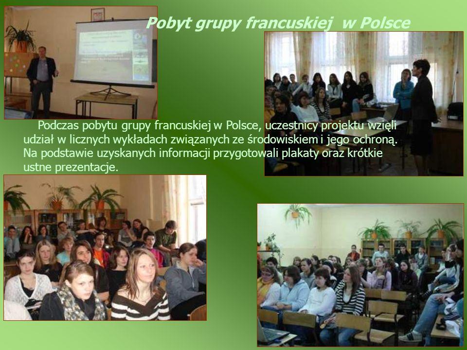 Pobyt grupy francuskiej w Polsce