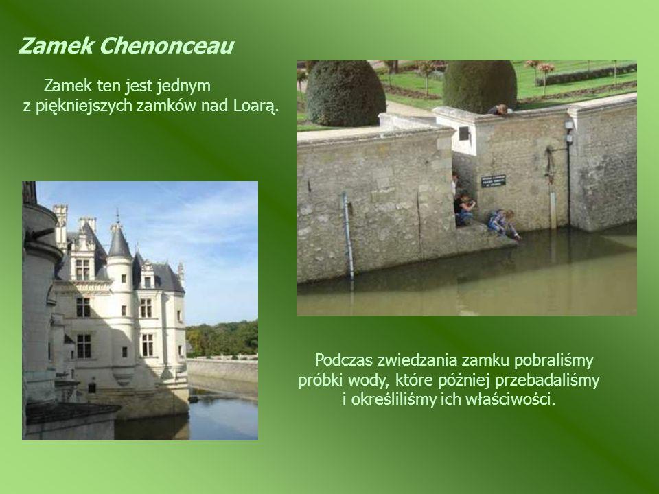 Zamek Chenonceau Zamek ten jest jednym z piękniejszych zamków nad Loarą.