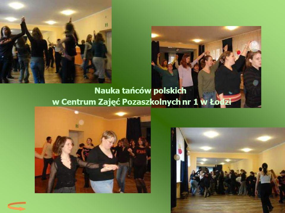 w Centrum Zajęć Pozaszkolnych nr 1 w Łodzi