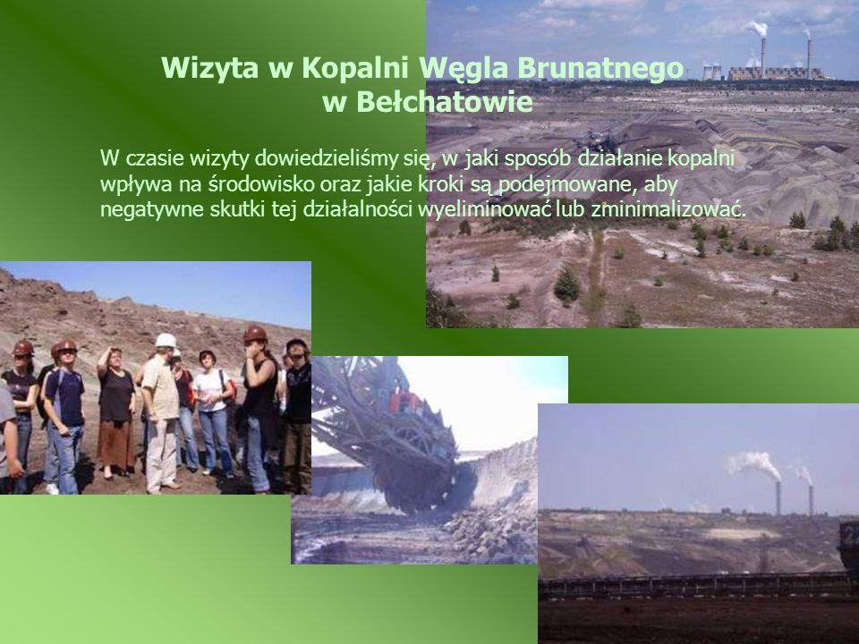 Wizyta w Kopalni Węgla Brunatnego w Bełchatowie