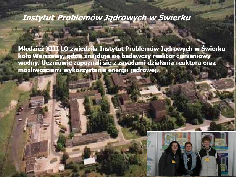 Instytut Problemów Jądrowych w Świerku