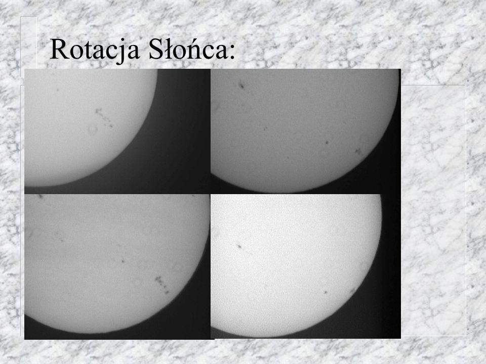 Rotacja Słońca: