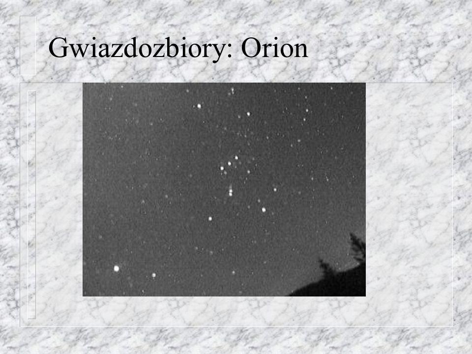 Gwiazdozbiory: Orion
