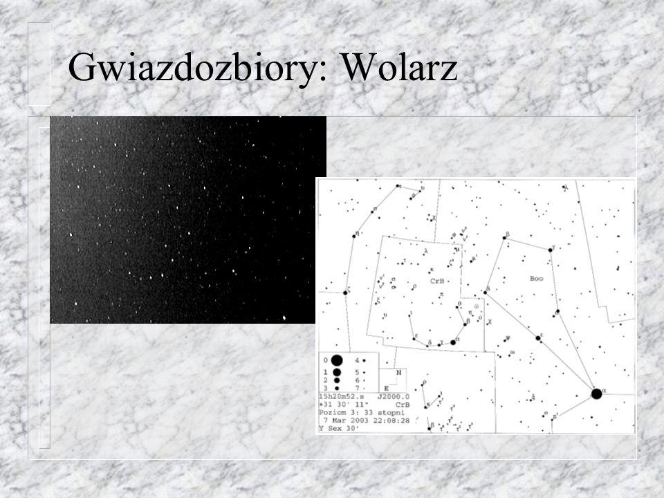 Gwiazdozbiory: Wolarz
