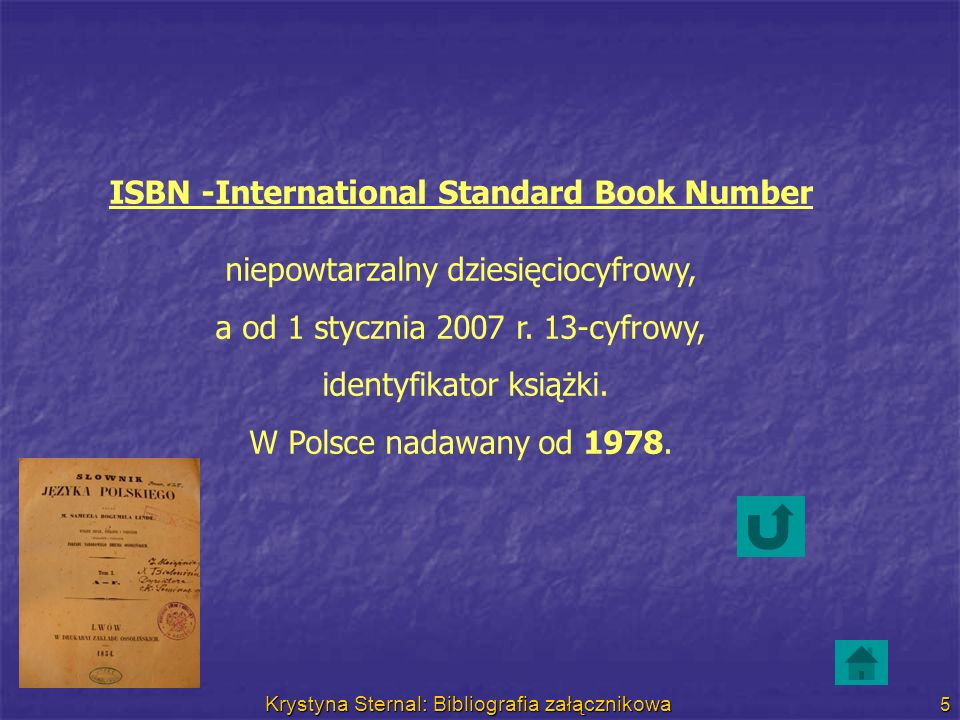 ISBN -International Standard Book Number