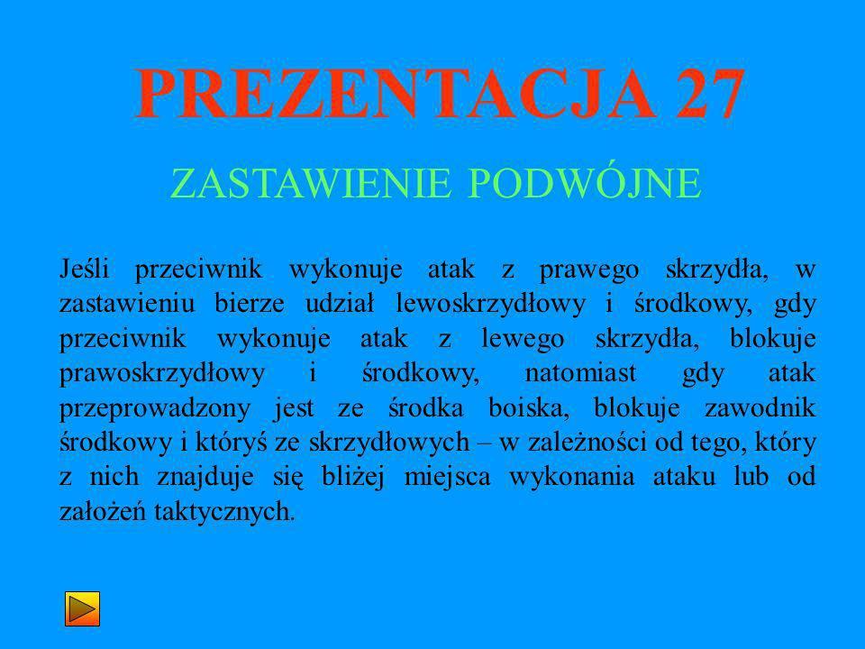 PREZENTACJA 27 ZASTAWIENIE PODWÓJNE