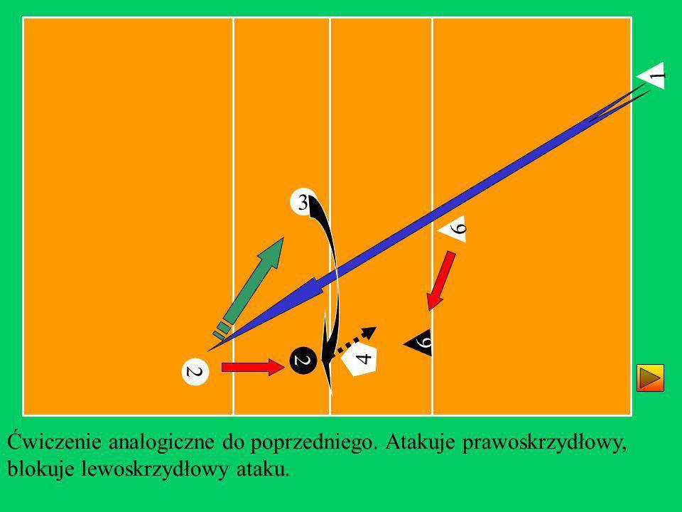 1 3. 6. 6. 4. 2. 4. 2. Ćwiczenie analogiczne do poprzedniego.