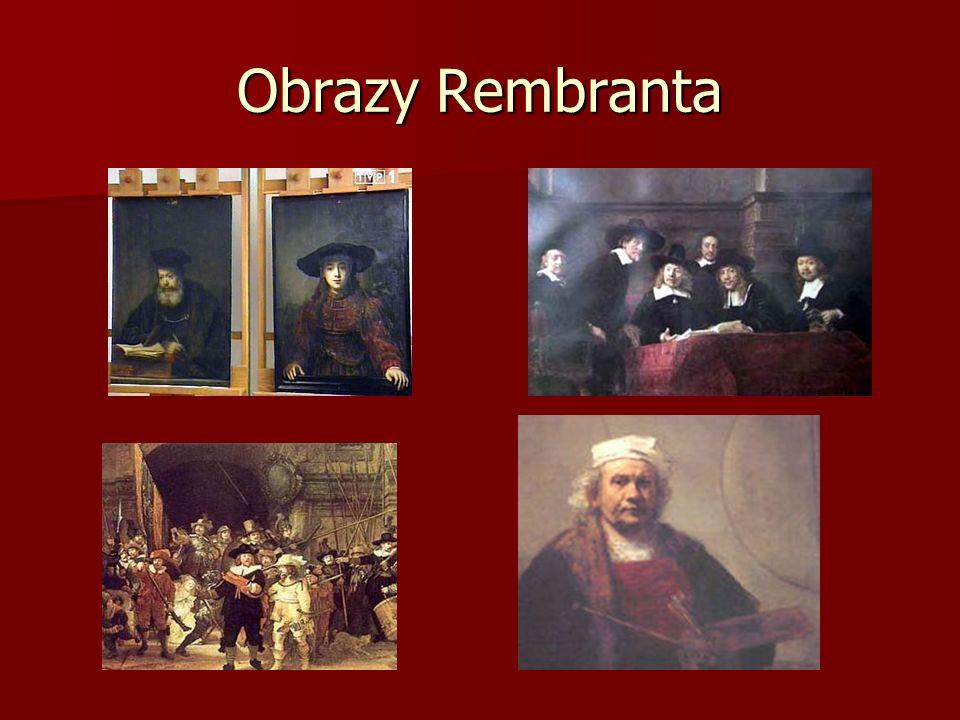 Obrazy Rembranta
