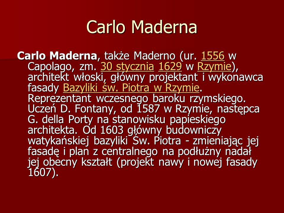 Carlo Maderna