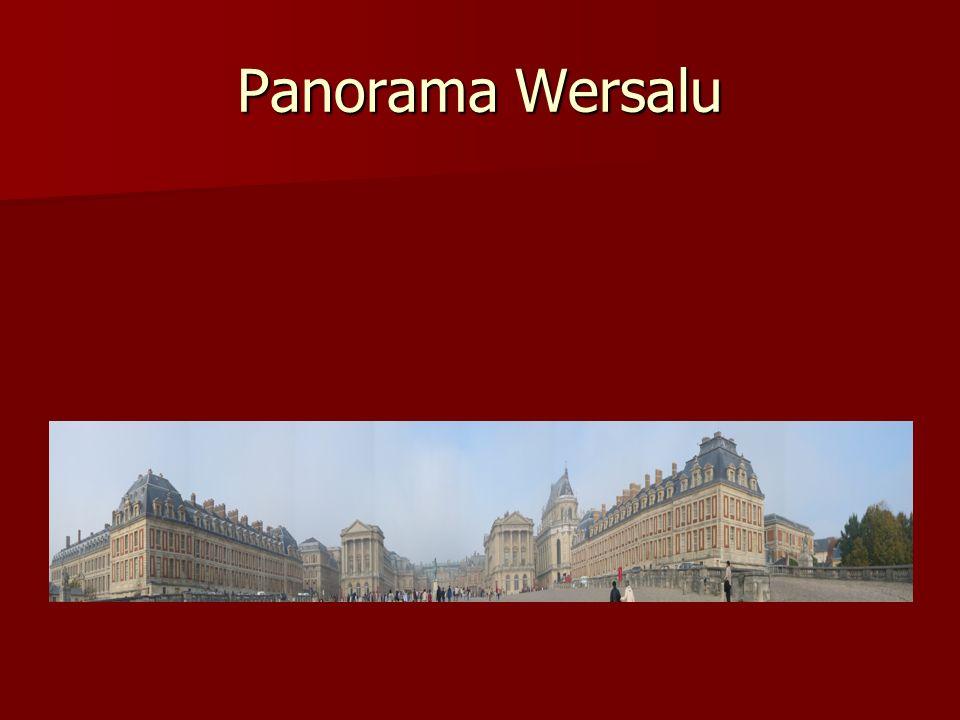 Panorama Wersalu