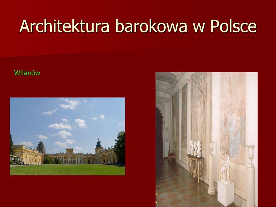 Architektura barokowa w Polsce