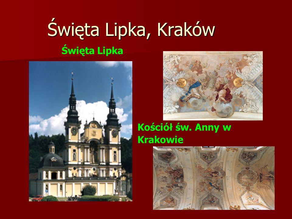 Święta Lipka, Kraków Święta Lipka Kościół św. Anny w Krakowie