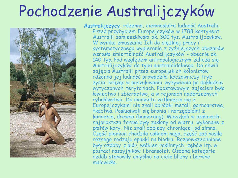 Pochodzenie Australijczyków