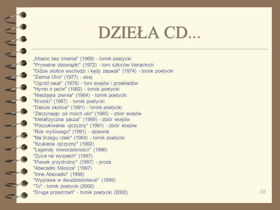 DZIEŁA CD...