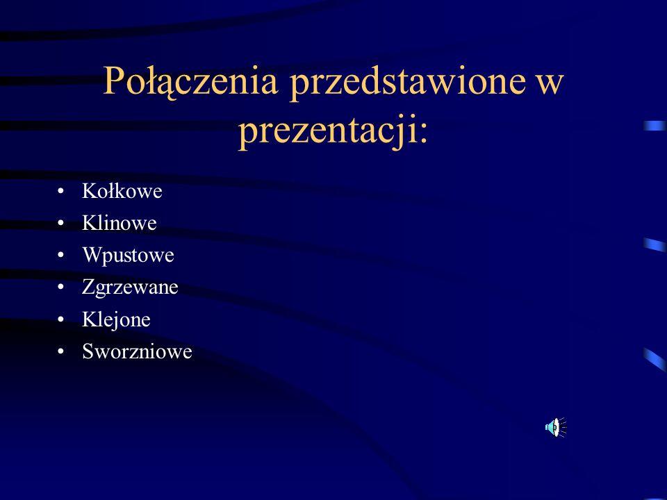 Połączenia przedstawione w prezentacji: