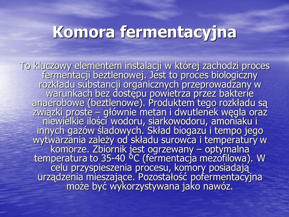 Komora fermentacyjna