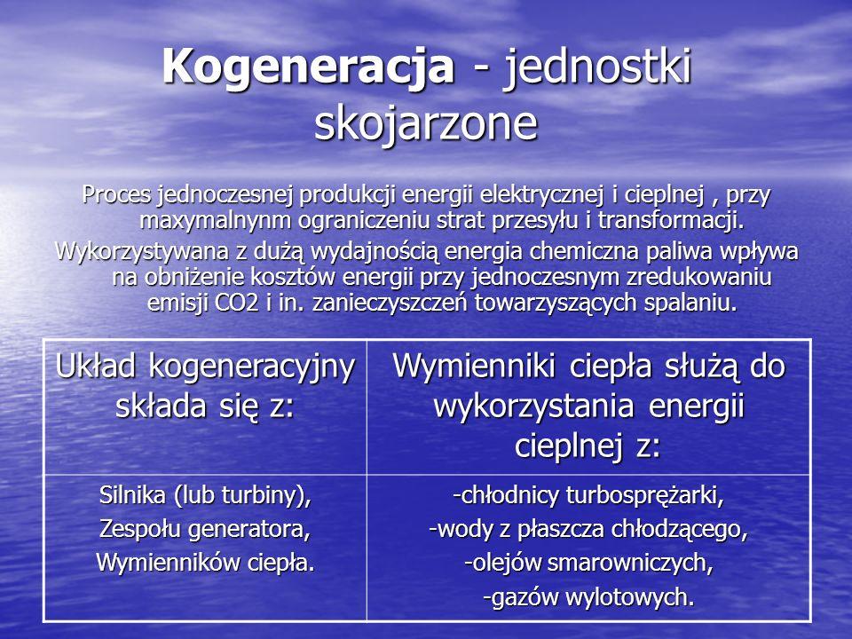 Kogeneracja - jednostki skojarzone