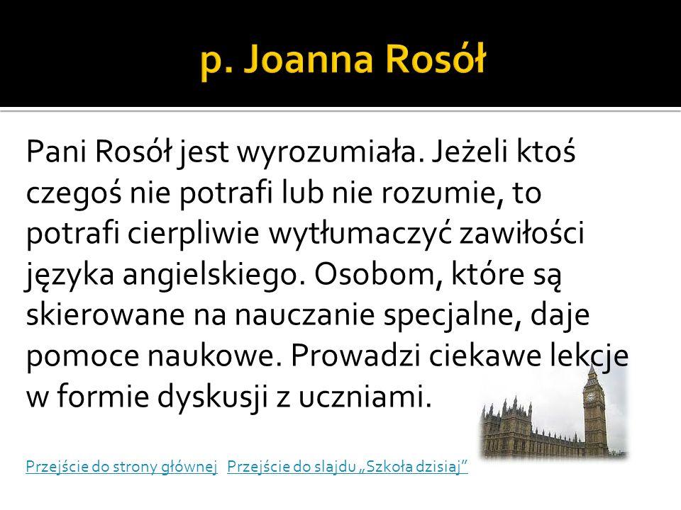 p. Joanna Rosół