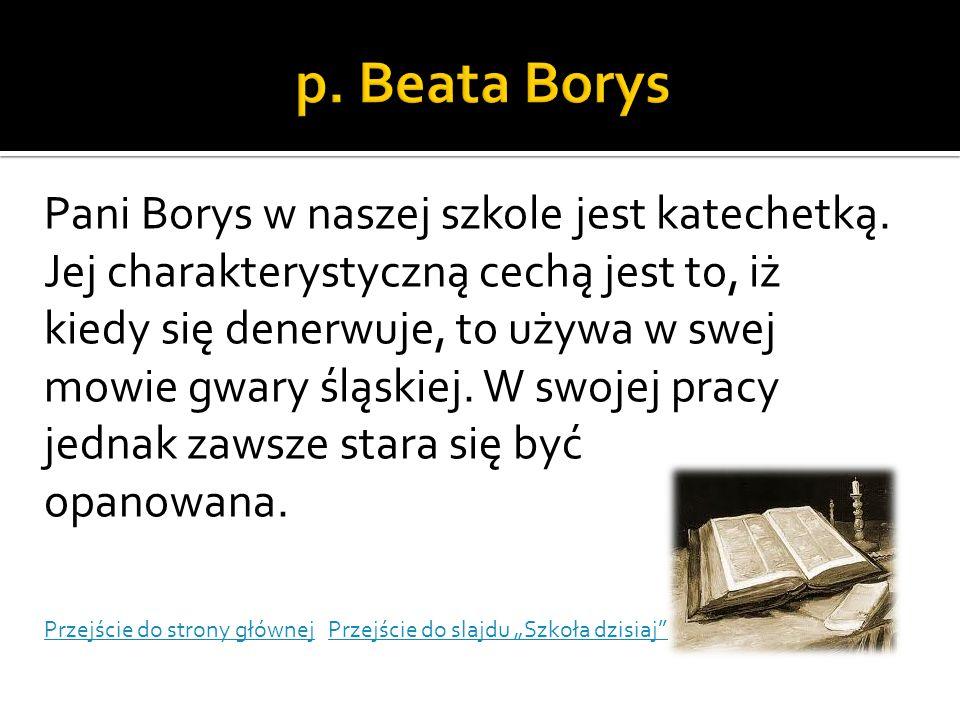 p. Beata Borys