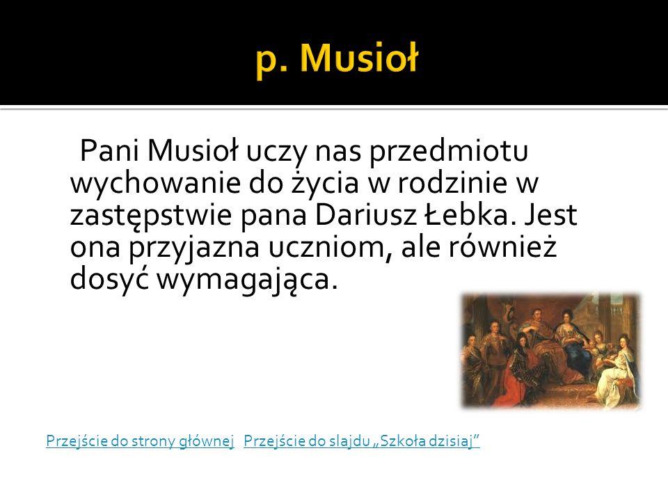 p. Musioł