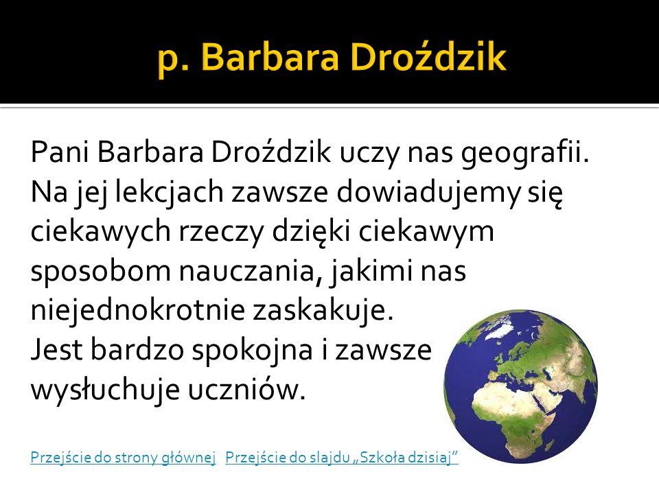 p. Barbara Droździk