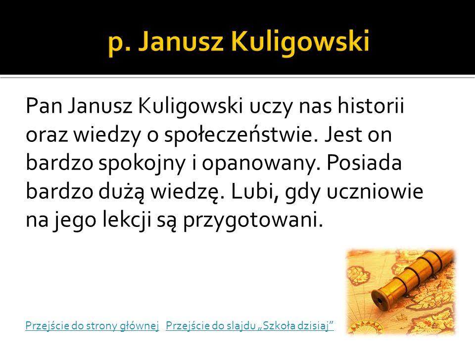 p. Janusz Kuligowski