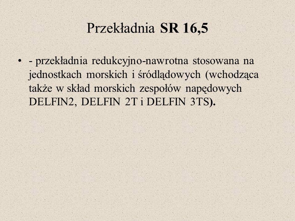 Przekładnia SR 16,5