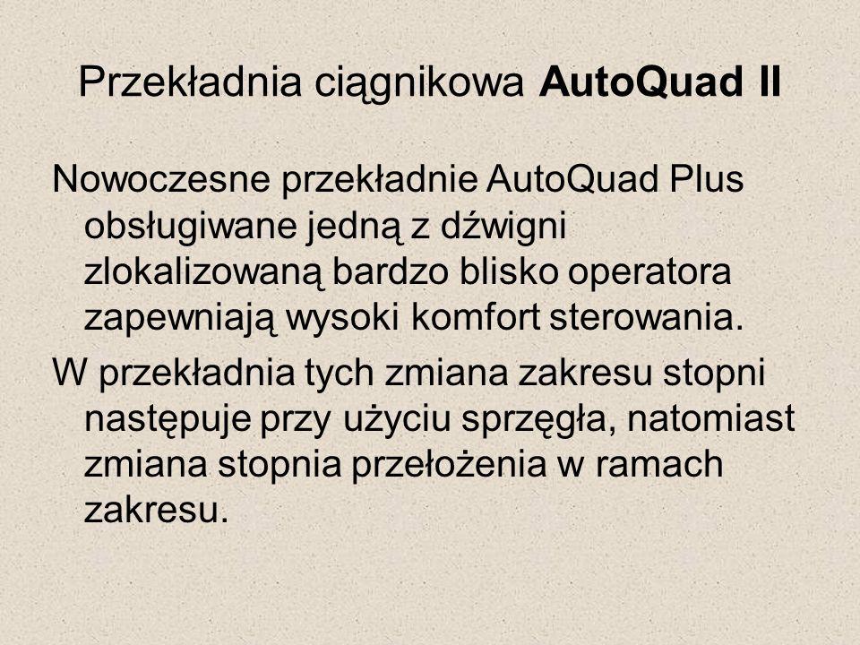Przekładnia ciągnikowa AutoQuad II