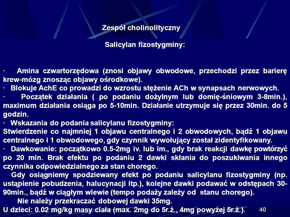 Salicylan fizostygminy: