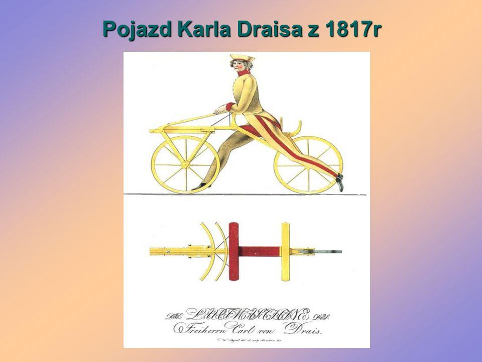 Pojazd Karla Draisa z 1817r