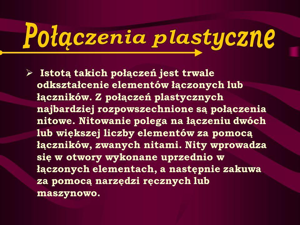 Połączenia plastyczne