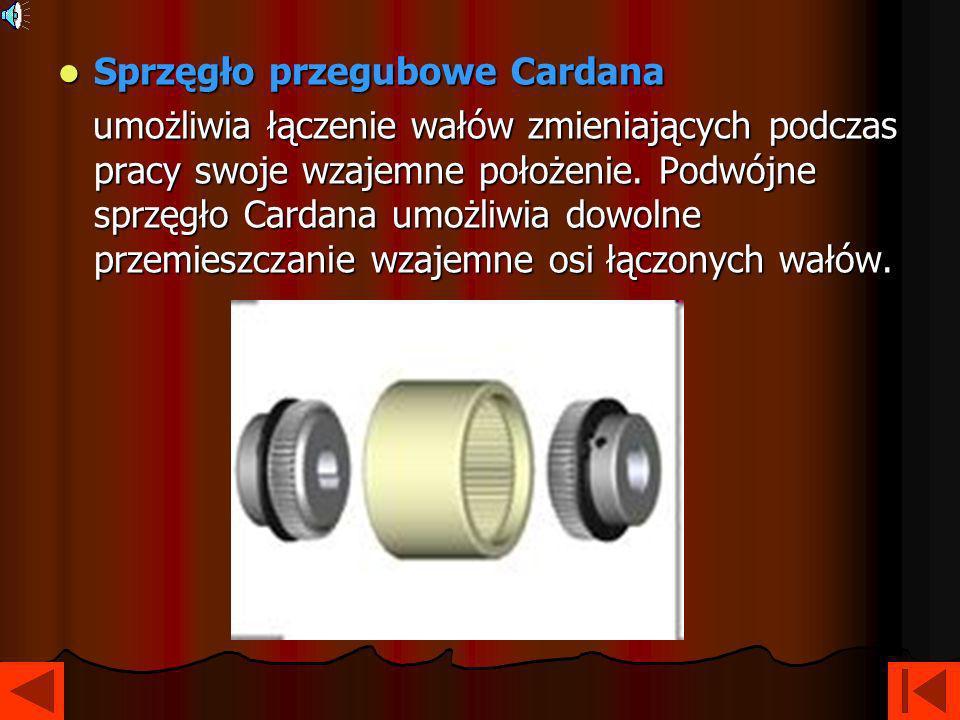 Sprzęgło przegubowe Cardana