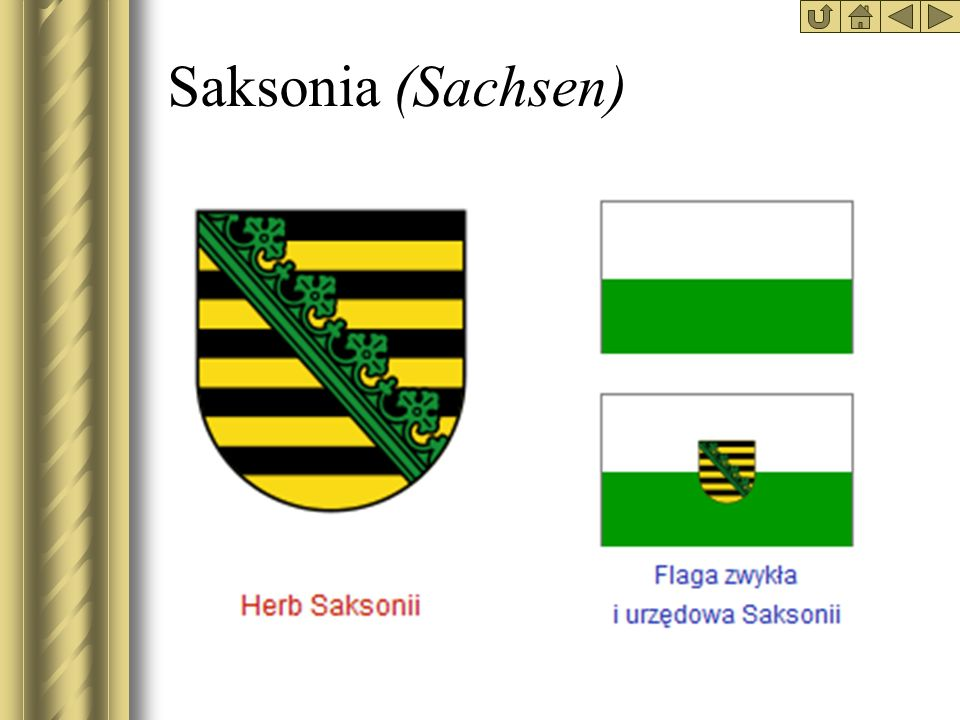 Saksonia (Sachsen)