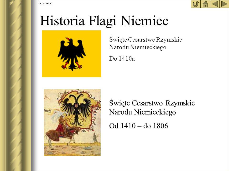 Historia Flagi Niemiec