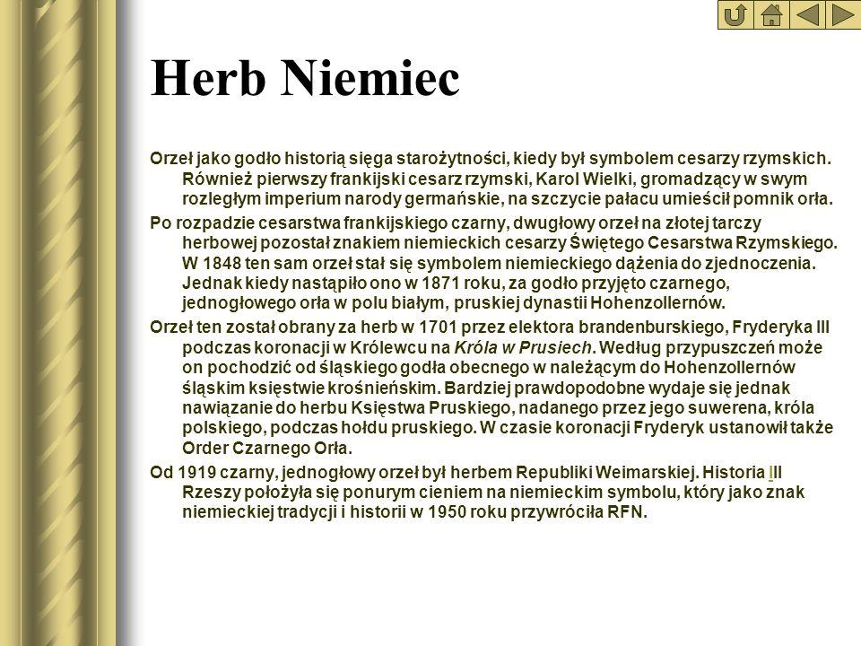 * Herb Niemiec.