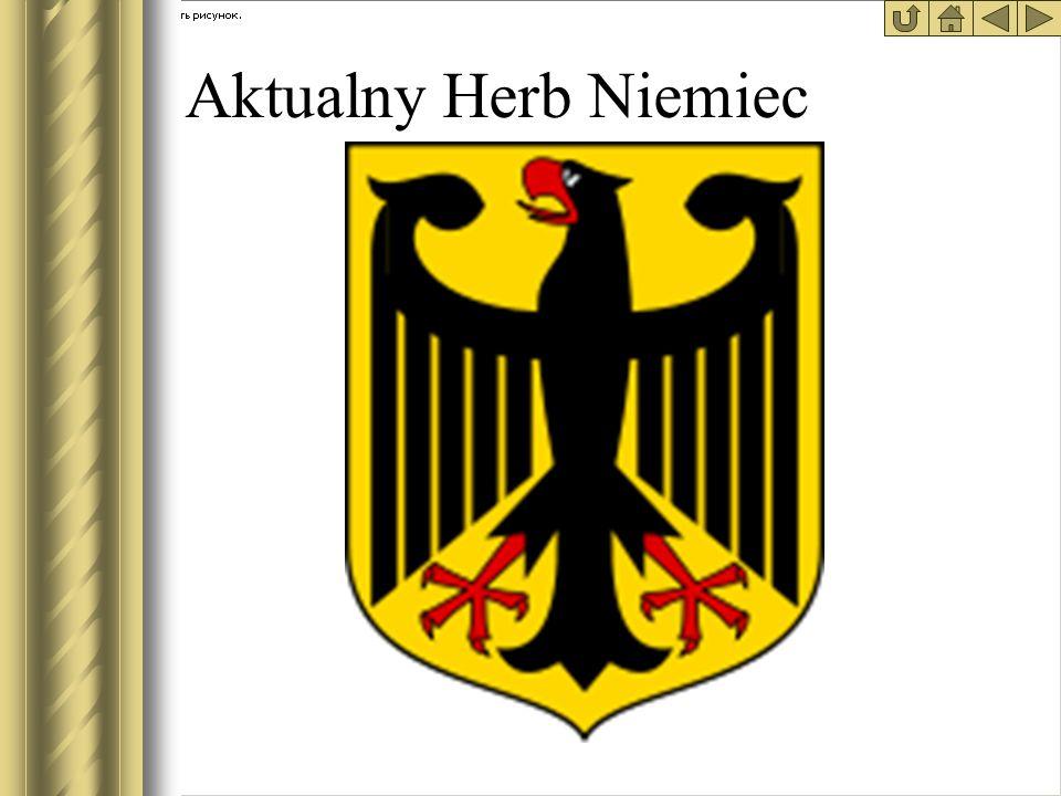 * Aktualny Herb Niemiec