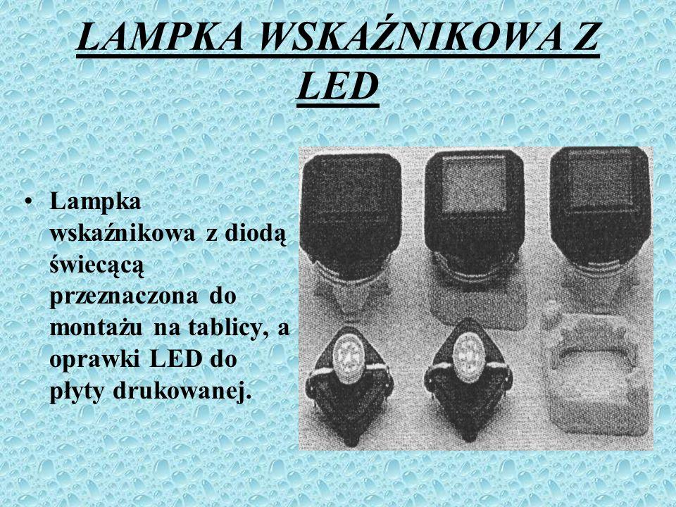LAMPKA WSKAŹNIKOWA Z LED