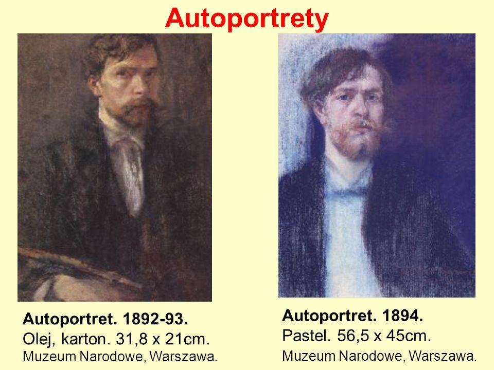Autoportrety Autoportret. 1894. Autoportret. 1892-93.