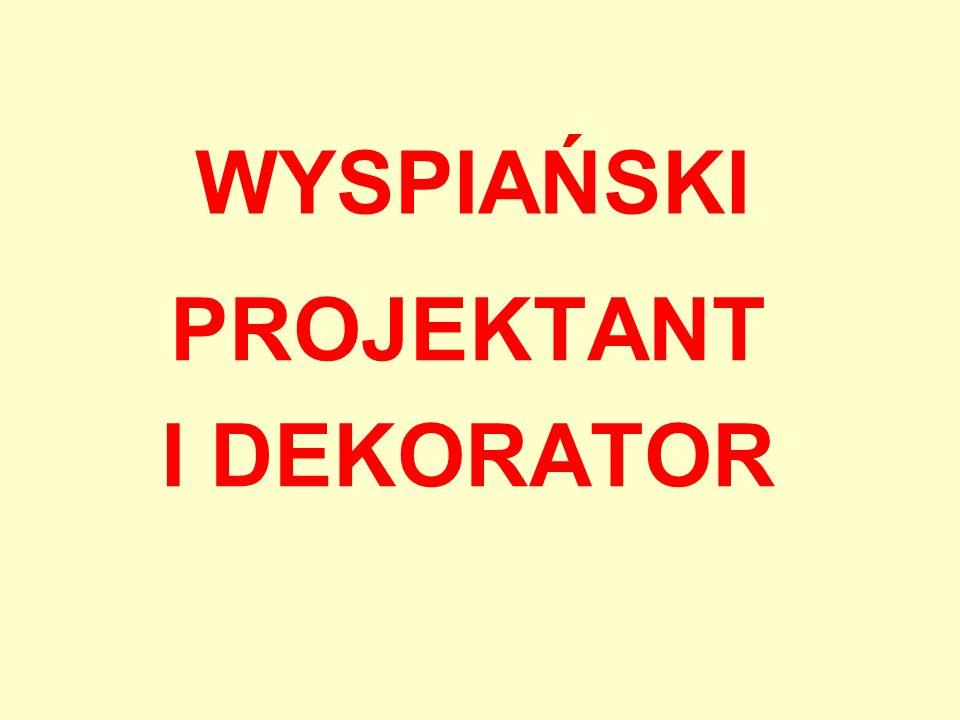 PROJEKTANT I DEKORATOR