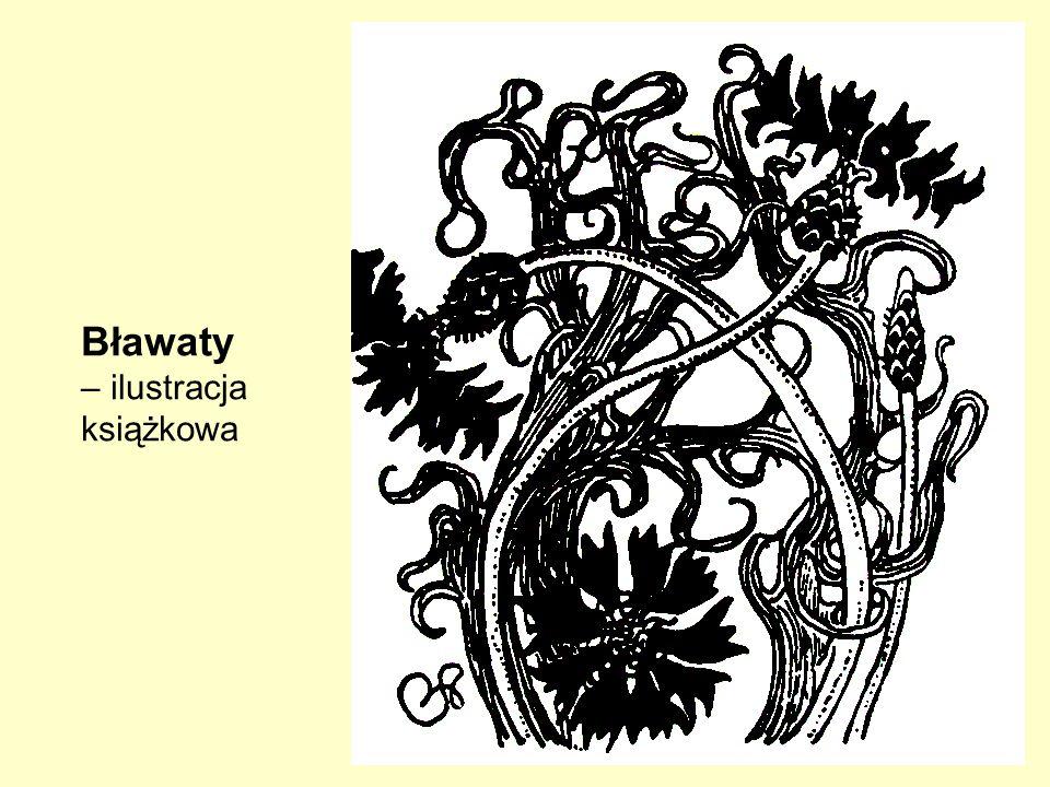 Bławaty – ilustracja książkowa