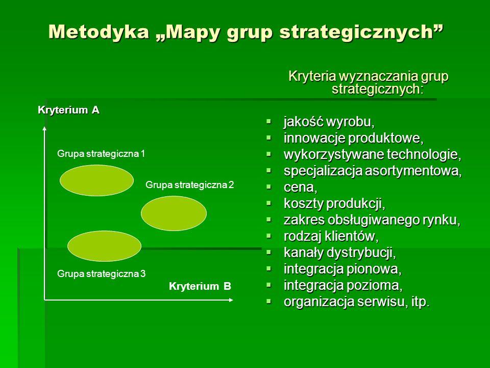 """Metodyka """"Mapy grup strategicznych"""