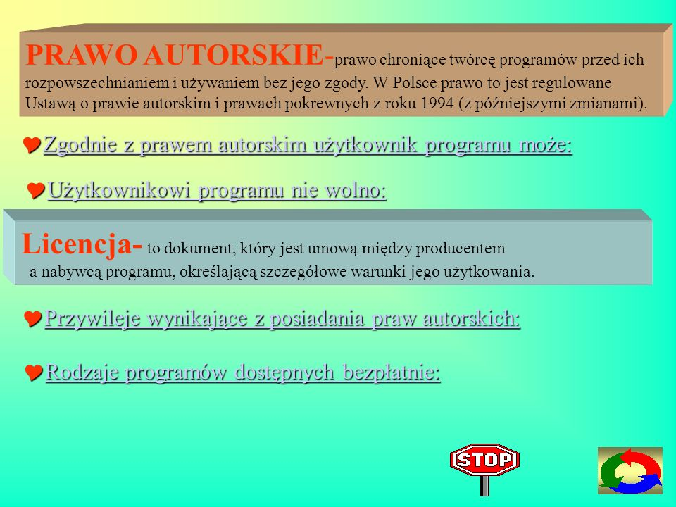 Licencja- to dokument, który jest umową między producentem