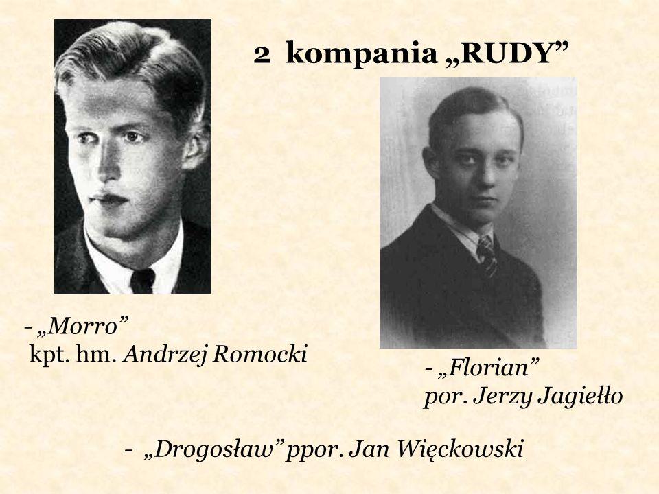 """2 kompania """"RUDY - """"Morro kpt. hm. Andrzej Romocki"""