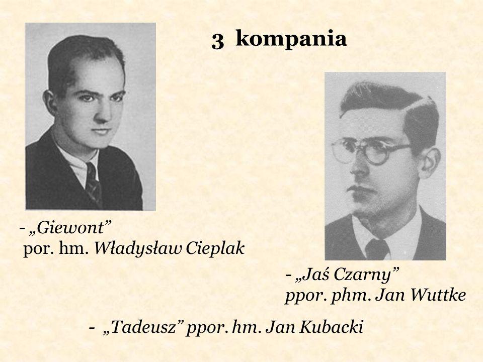 """3 kompania - """"Giewont por. hm. Władysław Cieplak"""