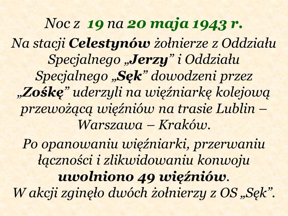 Noc z 19 na 20 maja 1943 r.
