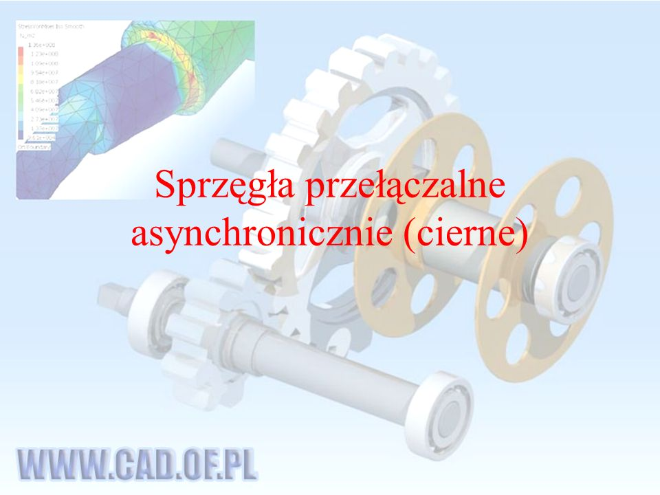 Sprzęgła przełączalne asynchronicznie (cierne)