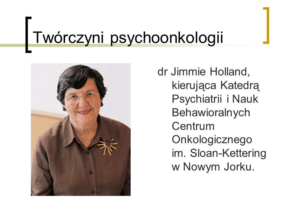 Twórczyni psychoonkologii