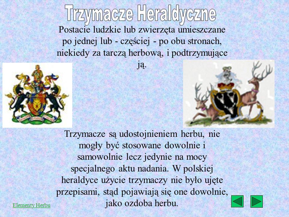 Trzymacze Heraldyczne