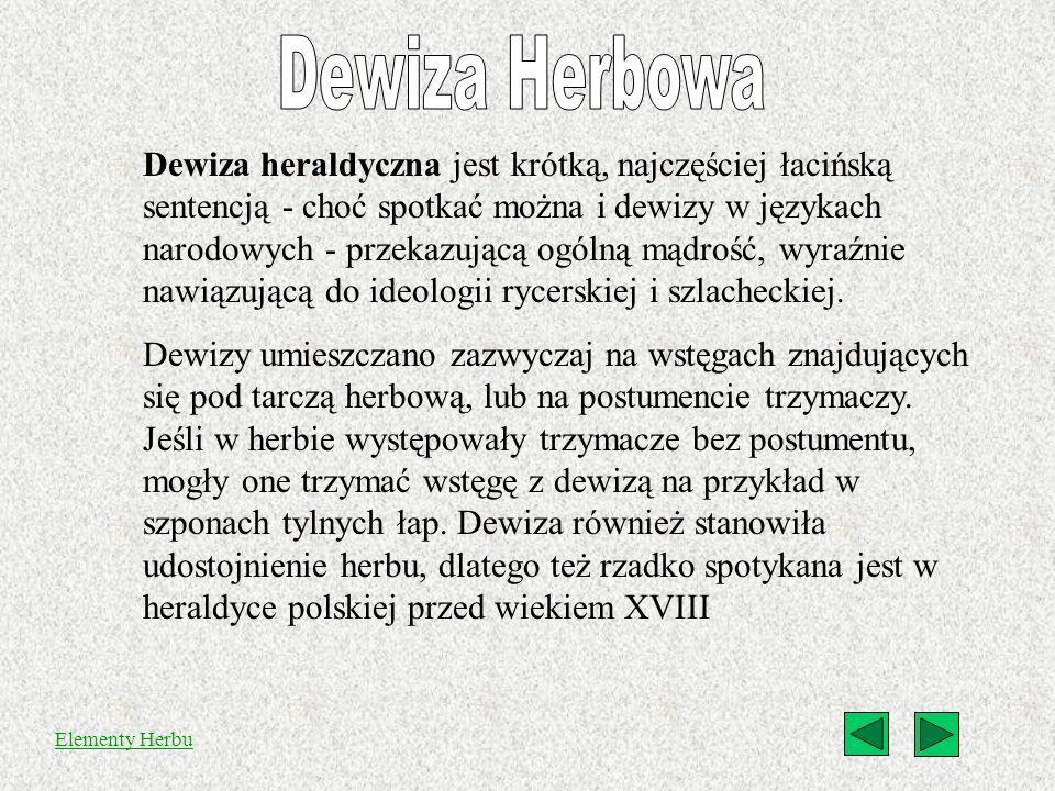 Dewiza Herbowa
