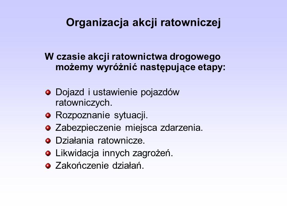 Organizacja akcji ratowniczej
